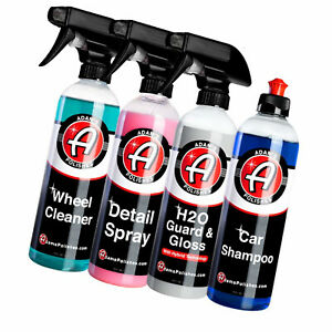 Car Wash Cleaning Kit Detailing Washing Clean Vehicle Truck Suv Care 4 Pack New