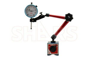 Shars 176 Lbs Magnetic Base W Speed Set Fine Adjustment 1 Dial Indicator P