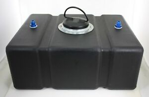 Jaz 8 Gal Black Circle Track Fuel Cell And Cap