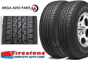 2 Firestone Destination Le2 Le 2 P265 70r16 111t Owl All season Truck Suv Tires