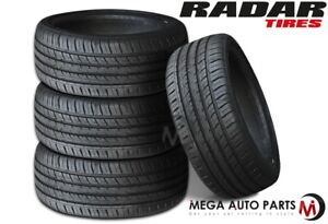 4 Radar Dimax R8 235 50zr18 101y Ultra High Performance Summer Car Suv Cuv Tire