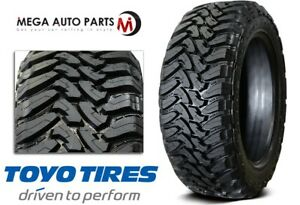1 Toyo Open Country M t 33x1250r20 119q 12 ply Off road Truck suv cuv Mud Tires