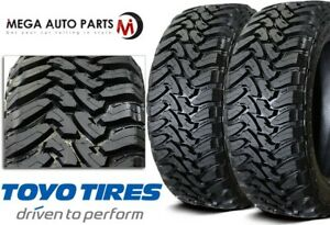 2 Toyo Open Country M t 33x1250r20 119q 12 ply Off road Truck suv cuv Mud Tires