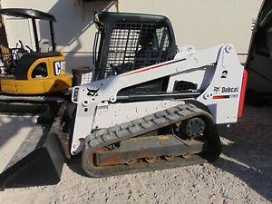 2016 Bobcat T 630 Turbo 2 Speed Keyless Security System Deluxe Display