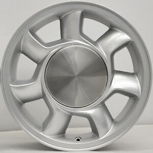 17 Silver 93 Cobra Replica Wheels 17x8 5 4x108 26 Mustang 79 93 Fox
