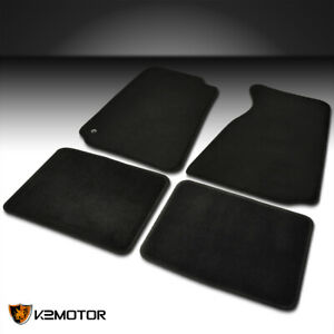 4pc Custom Fit For 1994 2004 Ford Mustang Gt V6 V8 Cobra Carpet Floor Mats