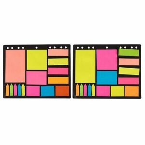 Pack Of 600 Index Tabs Bookmark Stickers Memo Flags Sticky Post Notes Note Pads