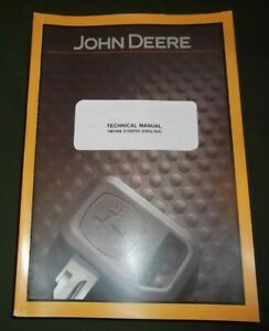 John Deere 300d 310d 315d Backhoe Loader Technical Service Op Test Manual Tm1496