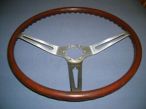 69 Rosewood Wood Steering Wheel Gm Vvg Chevelle Ss 396 Ss 350 Camaro Z28 Caprice