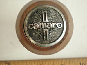 Vintage Wood Chevrolet Camaro Gear Shift Knob 1 2 Thread
