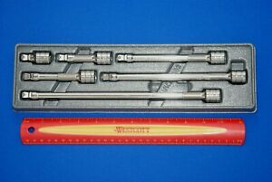 New 2018 Snap on 6 Pc 3 8 Drive Wobble Plus Extension Set 206afxwp Ships Free