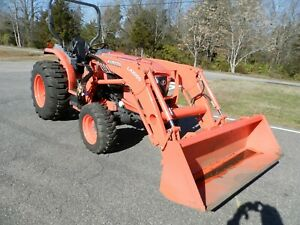 2018 Kubota Grand L 5460hst 4x4 Tractor With 187 Hours