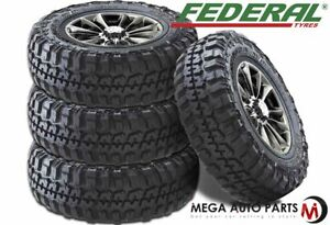 4 Federal Couragia M t 265 70r17 121 118q 10ply Off Road White Letter Mud Tire
