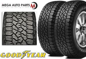 2 Goodyear Wrangler Trailrunner At Lt285 70r17 121r Owl 55k Mi All Terrain Tires