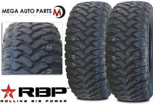 2 Rbp Repulsor M t 37x13 50r22lt 123q 10ply All Terrain Mud Truck Tires Mt