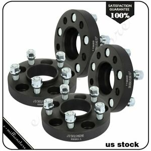 4 Pcs 1 5x4 5 1 2 Studs Wheel Spacers For Ford Mustang Edge Ranger