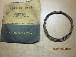 1949 Lincoln Speedometer Cable Core Nos