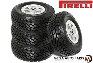 4 Pirelli Scorpion Mtr Lt255 70r16 108q Mud terrain 4x4 4wd Truck Off road Tires