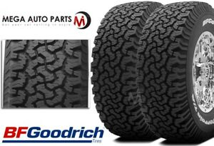2 Bf Goodrich All Terrain Ko Lt265 70r17 112r C Tires