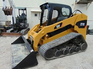 2013 Cat 277c asv Wide Track System New Tracks Solid Metal Rollers