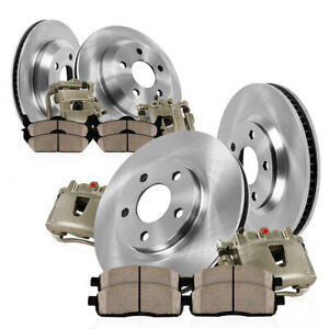 For 1999 2000 2001 Ford Mustang Cobra Front And Rear Brake Calipers Rotors Pads
