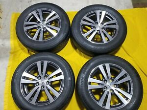 Oem Honda Pilot Ridgeline 2018 Elite Gray Wheels Rims Tires Bridgestone Dueler
