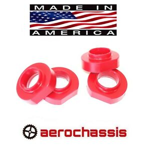 Grand Cherokee 1993 1998 Zj Lift Kit 1 Poly Coil Spring Spacers 4wd 2wd Red