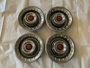 1956 Cadillac Sombrero Hubcaps Wheel Covers Hub Caps Deville Series 62