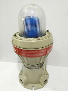 Tomar Electronics 3200bep Explosion Proof Power Strobe Colour Blue