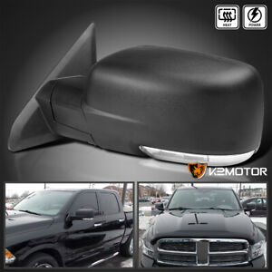 For 2009 2012 Dodge Ram 1500 Led Signal Power Heated Foldable Side Mirror Driver