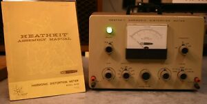Heathkit Im 58 Harmonic Distortion Meter With Manual In Excellent Condition