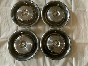 1965 Cadillac Hubcaps Wheel Covers Hub Caps Fleetwood Deville Limo
