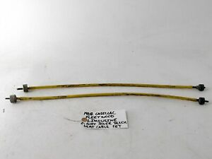 Oem 1968 Cadillac Fleetwood Limousine Two Way Power Bench Seat Cable Set