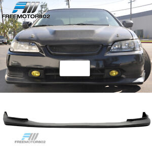 Fits 98 00 Honda Accord Coupe Front Bumper Lip Spoiler Sport Style Pu