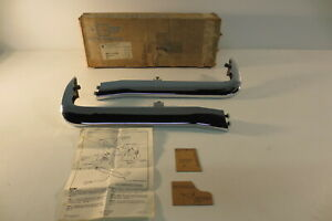 Nos 1965 65 Chevrolet Chevy Impala Belair Biscayne Accessory Front Bumper Guards