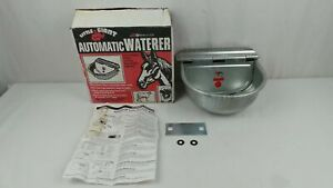 Little Giant Automatic Waterer Galvanized Steel For Livestock Cow Horse Goat Dog