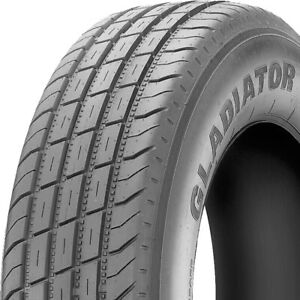 Gladiator Qr25 ts St 235 80r16 Load F 12 Ply Trailer Tire
