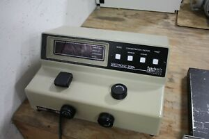 Spectronic Instruments Spectronic 20d Spectrophotometer