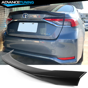 Fits 2020 Toyota Corolla 12th Altis Sedan 4 door Abs Trunk Spoiler Wing