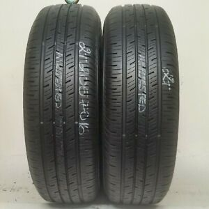 2 Tires 205 70 16 Continental Contiprocontact 96h 70 80 Tread