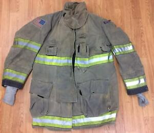 Globe Gxtreme Firefighter Bunker Turnout Jacket 42 Chest X 35 Length 2009
