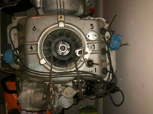 Running 1962 3 Chevrolet Corvair S High Performance 102 Hp Aircooled Engine