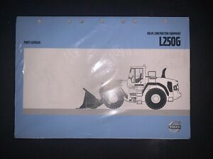Volvo L250g Loader Parts Catalog new Reference Pub20026441c in Plastic