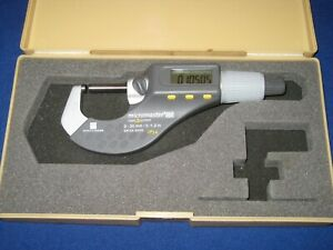 Brown Sharpe 599 100 Micromaster Digital Outside Micrometer 0 1 2 0 300 Mm