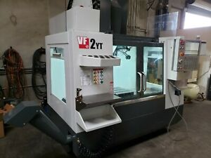 Haas Vf 2yt Mfg 2019 15k Spindle 50 Tool Atc Probing 4th Ready 47k Options