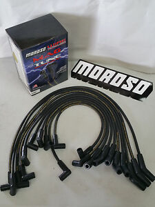 Moroso 8mm Spark Plug Wires Ford 5 0l F 150 F 250 Bronco Mustang 9189m