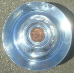 1947 1949 Gm Cadillac Sombrero Hubcap Cap Wheel Cover And Emblem 16 1940s