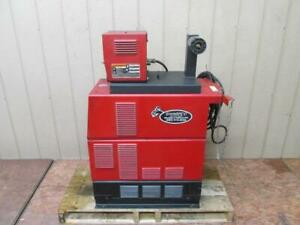 Lincoln Powerwave 450 Welding Power Source Synergic 7h Wire Feeder Welder