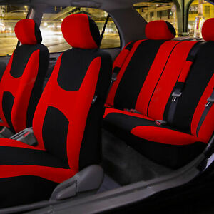 Auto Seat Covers Car Truck Suv Universal Covers W Accessories 11 Colors