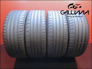 Four Tires Excellent Michelin 225 50 18 Pilot Super Sport 99y Bmw Nopatch 50769
